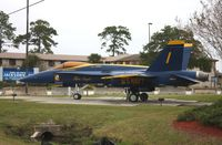 161941 @ NIP - Blue Angels F-18 - by Florida Metal