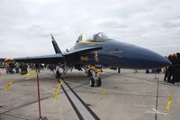 163455 @ NIP - Blue Angels F-18 - by Florida Metal