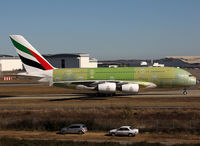 F-WWAG @ LFBO - C/n 0101 - For Emirates as A6-EDV - by Shunn311
