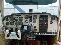 N5109C @ M31 - 1950 B35 S model panel upgrade - by Joe McMillen