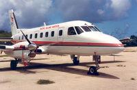 N110EM @ SPN - Pacific Island Aviation , Saipan , 19 jul '92 - by Henk Geerlings