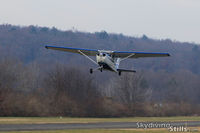 N1226F @ 7B9 - Departing Ellington, CT - by Dave G
