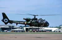 4210 @ EGVA - French Army Gazelle with registration 4210 and code GEF while leaving the RIAT-2010 - by Nicpix Aviation Press/Erik op den Dries