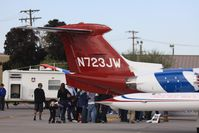 N723JW @ KLSV - Aviation Nation 2011 - by Mark Silvestri