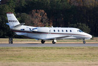 N616QS @ ORF - NetJets Aviation's 2003 Cessna 560XL Citation Excel N616QS (FLT EJA616) on takeoff roll on RWY 23 en route to Nashville Int'l (KBNA). - by Dean Heald