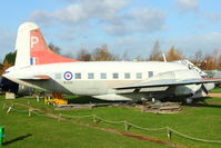 G-BHDD - ex WL626 Exhibited at the Aeropark Museum at East Midlands Airport