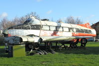 G-ANUW - Awaiting restoration at the Aeropark Museum at East Midlands Airport