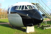 G-APES - Exhibited at the Aeropark Museum at East Midlands Airport