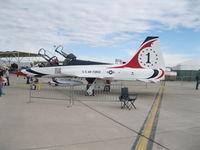 N385AF @ KLSV - Aviation Nation 2011 - by Mark Silvestri