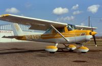 N24212 @ 9S2 - Cessna 152, formerly out of Crystal Airport MN, at Scobey.  Presently in India - by Mark Peterson