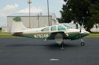 N7924M @ CHN - 1966 Beech D95A N7924M at Wauchula Municipal Airport, Wauchula, FL - by scotch-canadian