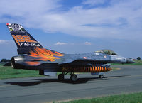 93-0682 @ LFQI - Turkish AF 192 Filo (sqn) sen two attratctive painted F-16's to the 50th anniversary of the NATO Tigermeet and is seen here on the taxitrack of Cambrai AB. - by Nicpix Aviation Press/Erik op den Dries