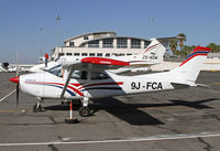 9J-FCA @ FALA - c/n unknown for this Zambian Cessna 182R at Lanseria - by Duncan Kirk
