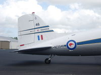 ZK-DAK @ NZAR - Close up of back end. - by magnaman