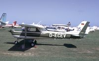D-ECEV @ EGJJ - Jersey Air Rally 1971 - by P Hamer