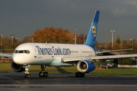 G-FCLK @ EGCC - Thomas Cook Airlines - by Chris Hall