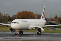 F-GTAZ @ EGCC - Air France - by Chris Hall