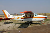A2-AFK @ FBSK - Kalahari Air Service Cessna 210 at Gaborone - by Duncan Kirk