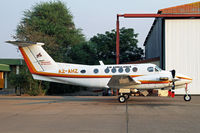 A2-AHZ @ FBSK - Kalahari Air Services air ambulance King Air - by Duncan Kirk