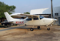 A2-AJC @ FBSK - Late evening shot on Gaborone ramp - by Duncan Kirk