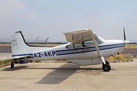 A2-AKP @ FBSK - Nice missionary Cessna 185 - by Duncan Kirk