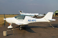 A2-KFC @ FBSK - Yes a kit plane in Botswana - by Duncan Kirk
