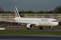 F-GTAZ @ EGCC - Air France - by Chris Hall