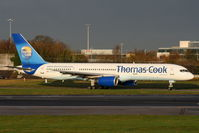 G-FCLK @ EGCC - Thomas Cook - by Chris Hall
