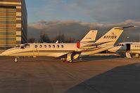N777EW @ LOWW - Cessna 525B
