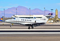 C-FJHS @ KLAS - C-FJHS British Aerospace BAe-125-800B/XP (cn 258283)