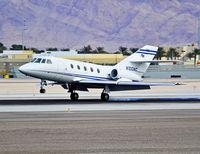 N100AC @ KLAS - N100AC 1977 Dassault/sud FAN JET FALCON C/N 366  Las Vegas - McCarran International (LAS / KLAS) USA - Nevada, December 03, 2011 Photo: Tomás Del Coro - by Tomás Del Coro