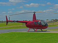VH-TKP @ YMMB - Robinson R44 VH-TKP at Moorabbin  -  nice colour!