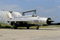 1206 @ LZMC - unserviceable MiG-21