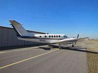 N1114K @ KTLR - Modesto, CA-based 1997 King Air B200 @ Tulare, CA - by Steve Nation