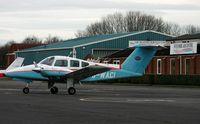 G-WACI @ EGTB - Ex: N6703Y>G-WACI - Wycombe Air Centre Ltd - by Clive Glaister