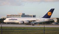 D-AIMF @ MIA - Lufthansa A380
