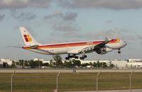 EC-IQR @ MIA - Iberia A340-600