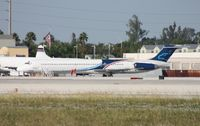 N120MN @ MIA - Falcon MD-83
