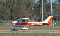 N6389G @ KTLR - Wasco, CA-based 1970 Cessna 150K rolling-out @ Tulare, CA - by Steve Nation