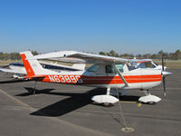 N6389G @ KTLR - Wasco, CA-based 1970 Cessna 150K visiting @ Tulare, CA - by Steve Nation