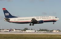 N404US @ MIA - US Airways 737