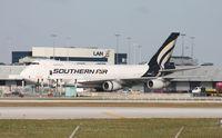 N758SA @ MIA - Southern 747-200F