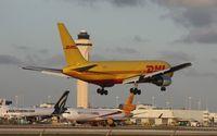 N798AX @ MIA - DHL 767