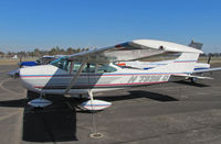 N7335Q @ KTLR - Marysville, CA-based 1972 Cessna 182P (note presentation of registration: N 7335 Q) photographed @ Tulare, CA - by Steve Nation