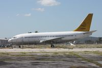 TU-TAW @ OPF - Northeast Bolivian 737-200 getting broken up