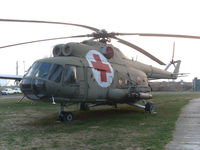 12208 @ LYBE - Mil Mi-8 at the airforce museum - by Andreas Ranner