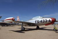47-1433 - Republic F-84C Thunderjet at the Pima Air & Space Museum, Tucson AZ - by Ingo Warnecke