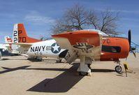 140481 - North American T-28C Trojan at the Pima Air & Space Museum, Tucson AZ - by Ingo Warnecke