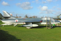 WV382 - 1955 Hawker Hunter GA.11, c/n: 41H-670828 at Aeropark at East Midlands
