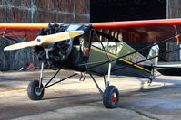 G-HFBM @ EGLG - 1929 Curtiss Robertson C-2 ROBIN , c/n: 352 at Panshanger - by Terry Fletcher